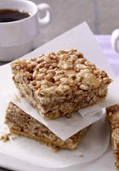 S'Mores RICE KRISPIES TREATS® -- Here are two childhood favorites--s'mores and RICE KRISPIES TREATS®--working together to bring you some yummy dessert squares. Brilliant!