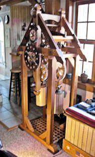 Cedar clock!
