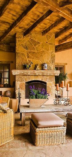 Outdoor Fireplace charisma design