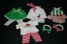 this site has some quick tips for sewing doll clothes using fabric from t-shirts and sheets