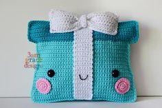 Present Kawaii Cuddler™ Crochet Pattern