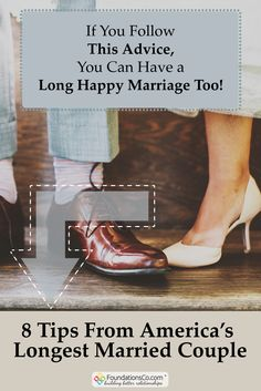 Answered: How To Stay Married For 83 Years http://www.foundationsco.com/advice-for-long-happy-marriage/ #marriage