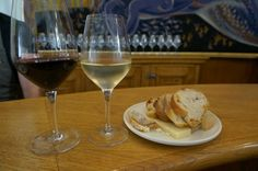 wine and cheese at Bar a Vin Ecole du Vin Bordeaux