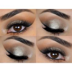 New Get This Look   Trio Natural Vegan Eyeshadow and Eyeliner Makeup... ($18) ❤ liked on Polyvore featuring beauty products, makeup, eye makeup, eyeshadow, bath & beauty, grey, blender brush, mineral eyeshadow, hypoallergenic eye shadow and hypoallergenic eye makeup