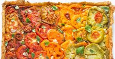 Make a gorgeous tomato pie your guests will never forget.