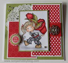 Sonja´s Hobbyblog: Stamp with fun # 204 / Ein Sketch
