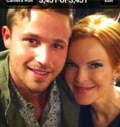 Desperate Housewives;Marcia and Shawn aka Bree and Andrew Van de Kamp