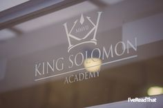 Novelist and playwright Michael Frayn visits the King Solomon Academy as part of the Royal Society of Literature's Education Outreach scheme Michael Frayn, King Solomon, Royal Society, Playwright, Literature, Novels, Neon Signs, Education, Pictures