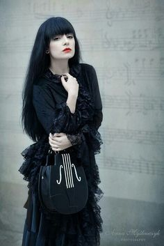Top Gothic Fashion Tips To Keep You In Style. As trends change, and you age, be willing to alter your style so that you can always look your best. Consistently using good gothic fashion sense can help Gothic Dress, Gothic Outfits, Gothic Lolita, Dark Beauty, Gothic Beauty, Dark Fashion, Gothic Fashion, Women's Fashion, Witch Fashion