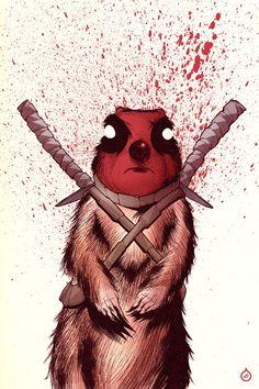 Deadpool Groundhog