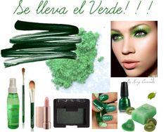 """""""Verde Esmeralda"""" by karycaicedo on Polyvore"""