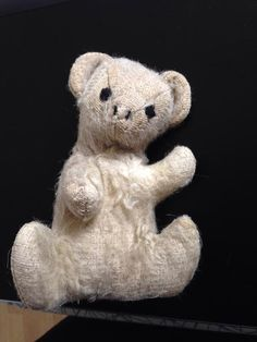 YAY!!! This teddy is now back home!!-- Lost on 19/04/2015 @ Edinburgh new royal infirmary . I was admitted to hospital while there my teddy went missing. I was given him by my mum as a baby she died when I was 10 and it's the only thing I have from her. I am desperate to get him back! He ... Visit: https://whiteboomerang.com/lostteddy/msg/rgbymk (Posted by Rawnie on 27/04/2015)