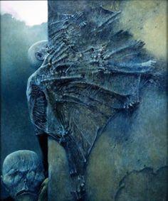 Inspiracje - Zdzisław Beksiński, gość co malował swoje sny...   Autumn Art