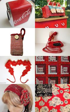 Red collection by Ashlee Davis Webber on Etsy--Pinned with TreasuryPin.com