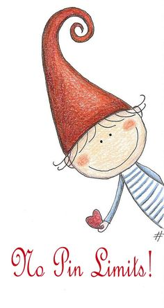 Un lutin au grand coeur - mezzo folletto - roberta topini Christmas Drawing, Christmas Art, Christmas Decorations, Christmas Doodles, Christmas Gnome, Christmas Paintings, Rock Art, Doodle Art, Cute Drawings