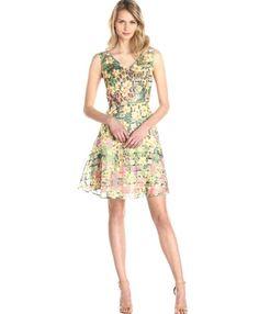 Stunning floral & animal print summer dress
