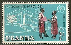Uganda 2/- Makerere College 1962