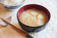 Onion and Potato Miso Soup