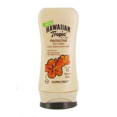 Hawaiian Tropic Protective Sun Lotion SPF 15 100ml | Fragrance Direct