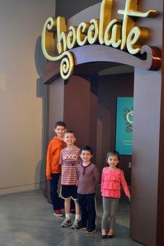 Chocolate Exhibit At The Natural History Museum Of Utah
