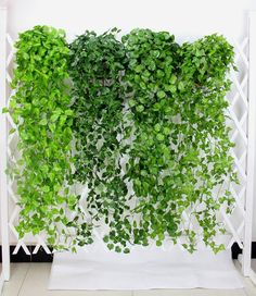 2 Bundle Artificial Ivy Leaf Garland Hanging Plants Vine Fake Foliage Flowers For Wedding Reception Decoration 47 inches