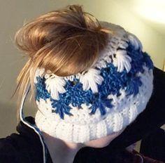 Crochet bun hat  Frozen Winter Bun Hat - FREE pattern by c8136c9190d3