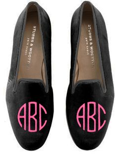 one day I will own a pair of custom, monogrammed Stubbs