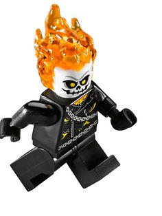 Lego 76058 Ghost Rider Spider Man Ghost Rider Minifigure (3)