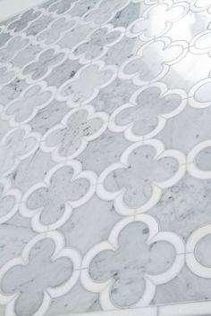 Hestia Cold- Mosaic and Water Jet by Mosaique Surface through Renaissance Tile and Bath.