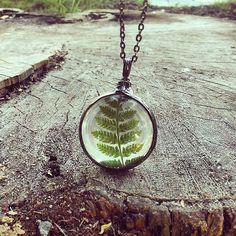Terrarium necklace, link in my bio