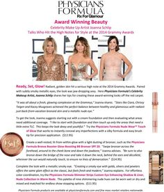 Ready, Set, Glow! Award-Winning Beauty Tips from Physicians Formula