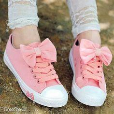 Sweet pink sneakers