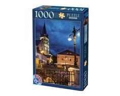 Puzzle D-Toys Anochece en Rumanía de 1000 Piezas