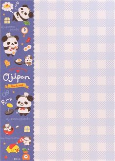 kawaii colorful memo pad from Japan with animals