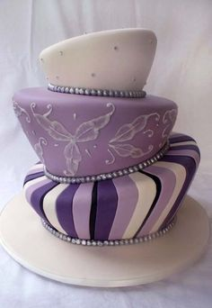For her Sweet 16 party maybe?  I'd prefer it flat with those colors instead of tilted.