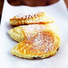 Our yummy One-Handed Fried Pies are filled with dried apricots, peaches, and apples. Get the recipe here: http://www.bhg.com/recipe/tarts/one-handed-fried-pies/?socsrc=bhgpin040412friedpies