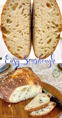 No Knead Sourdough Recipe, Making Sourdough Bread, Bread Making, Salt Bread Recipe, Sourdough Recipes Starter, Sourdough Bread Healthy, Sourdough Baguette Recipe, Bread Starter, Vegan Bread