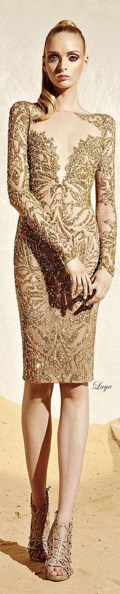 Cocktail dresses / karen cox.  ZUHAIR MURAD Ready-to-wear Resort 2015..kh