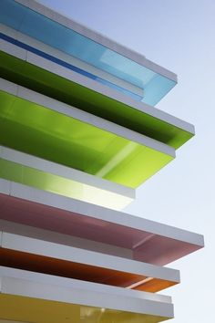 Get Happy: A Gallery of Colorful Modern Buildings | Apartment Therapy