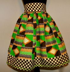 Beautiful  authentic  African print skirt on Etsy. Latest African Fashion, African Prints, African fashion styles, African clothing, Nigerian style, Ghanaian fashion, African women dresses, African Bags, African shoes, Nigerian fashion, Ankara, Aso okè, Kenté, brocade etc ~DK
