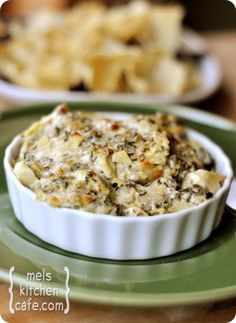 The Best Spinach Artichoke Dip