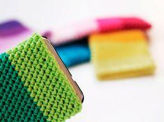 Tutoriel DIY: Crocheter un étuis pour smartphone via DaWanda.com