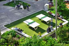 uts alumni green table tennis - Google Search