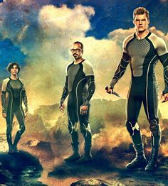 'Catching Fire' victor banner: Wiress, Beetee, Gloss