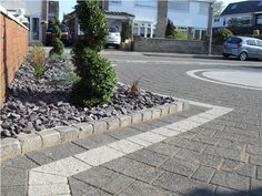 Moss Landscapes are a professional and award-winning Landscaping contractors who have been in operation for over 25 years. Block Paving Driveway, Driveway Ideas, Backyard Ideas, Garden Ideas, Driveways, Curb Appeal, Liverpool, Turning, Entrance