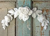 Chic Rose Center  Love adding these to furniture I am redoing. Love this site http://www.doityourselfchic.com