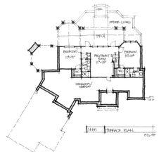 Home Design 1445 Bas