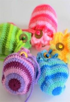 Free Pattern Friday – Lucky Coin Pouches