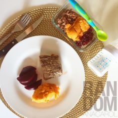 Mom and Baby Lunch Idea #healthy #babyfood #cleaneating