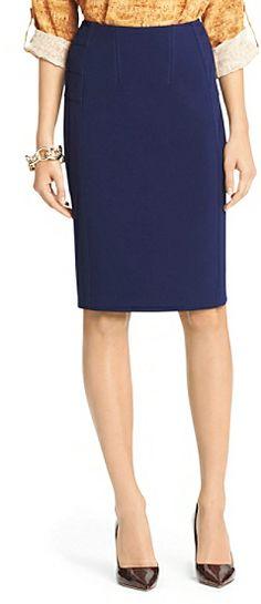 Diane von Furstenberg Brook Ceramic Pencil Skirt on shopstyle.com
